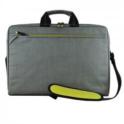 Tech air - EVO maletines para porttil 396 cm 156 Bandolera Negro Gris Cal