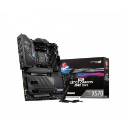 MSI - MPG X570S CARBON MAX WIFI AMD X570 Zcalo AM4 ATX