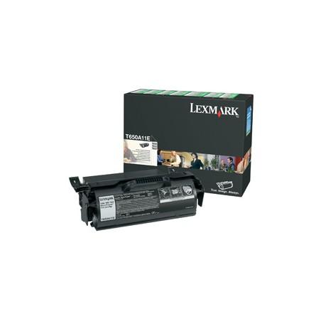 Lexmark - T650 T652 T654 Return Program Print Cartridge Original Negro