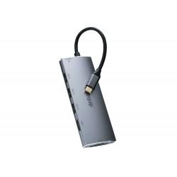 Equip - 133482 hub de interfaz USB 32 Gen 1 31 Gen 1 Type-C 5000 Mbit/s Plata