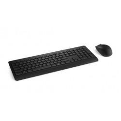 Microsoft - 900 teclado RF inalmbrico QWERTY Ingls del Reino Unido Negro