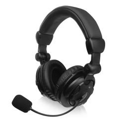 Ewent - EW3564 auricular y casco Auriculares Almbrico Diadema Calls/Music Negro