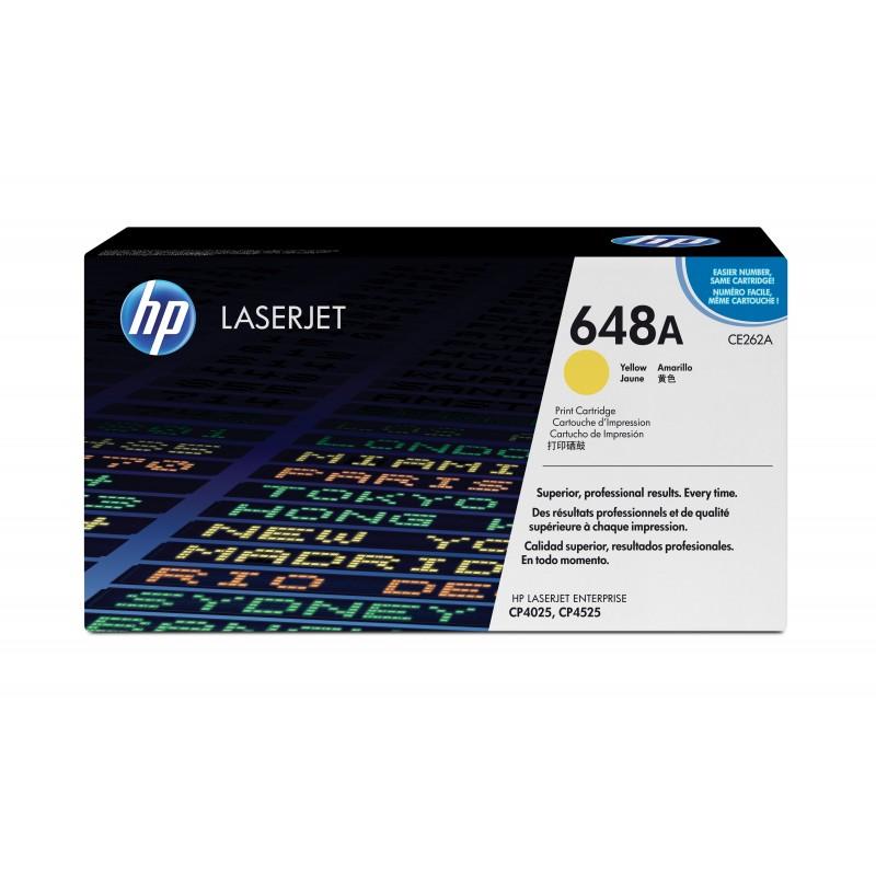 HP - 648A 1 piezas Original Amarillo