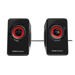 Mars Gaming - MS1 altavoz Negro Rojo Almbrico 10 W