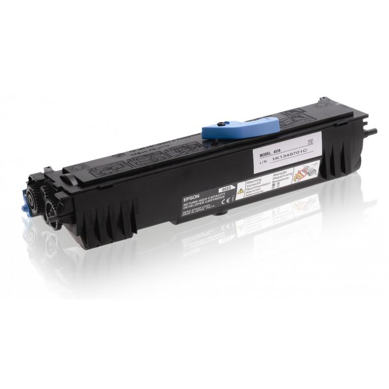 Epson - Cartucho de tner retornable negro alta capacidad 32k