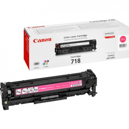 Canon - CRG-718 M Original Magenta 1 piezas