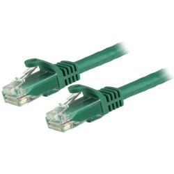 StarTechcom - Cable de 7m Verde de Red Gigabit Cat6 Ethernet RJ45 sin Enganche - Snagless
