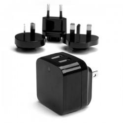 StarTechcom - Cargador de Pared USB de 2 Puertos para Tablets Smartphones - Cargador de Alta Potencia para Viajes
