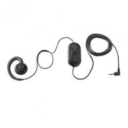 Zebra - HDST-25MM-PTVP-01 auricular y casco Auriculares gancho de oreja Negro