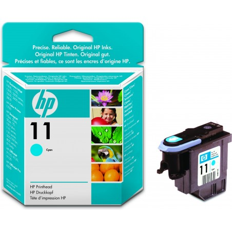HP - 11 1 piezas Original Rendimiento estndar Cian