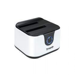 TooQ - DOCK STATION SATA 25/35 A USB 30 CLONE OTB NEGRO-BLANCO