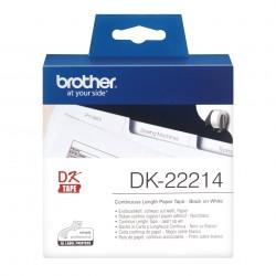 Brother - Cinta continua de papel trmico blanca - DK-22214