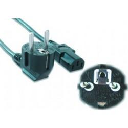 Gembird - PC-186-VDE-5M cable de transmisin Negro