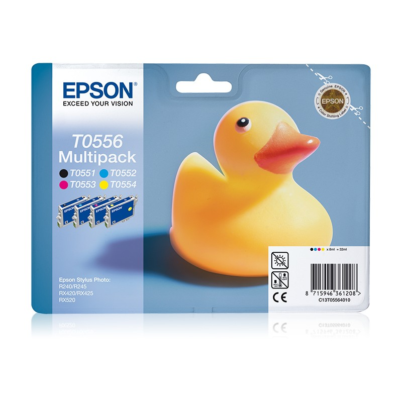 Epson - Duck Multipack T0556 4 colores