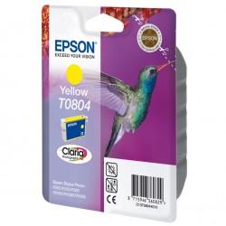 Epson - Hummingbird Singlepack Yellow T0804 Claria Photographic Ink