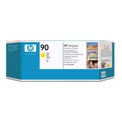 HP - Limpiador de cabezales de impresin y cabezal de impresin DesignJet 90 amarillo