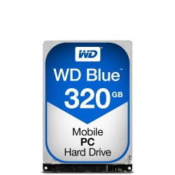 Western Digital - Blue PC Mobile 25 320 GB Serial ATA III