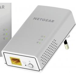 Netgear - PL1000-100PES adaptador de red powerline 1000 Mbit/s Ethernet Blanco 2 piezas