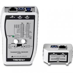 Trendnet - TC-NT3 comprobador de cables de red Plata
