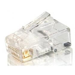 Equip - 121140 conector RJ-45 8P8C Transparente