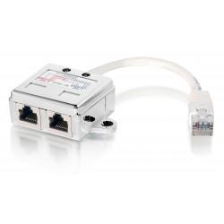 Equip - 127603 divisor de red Metlico Blanco