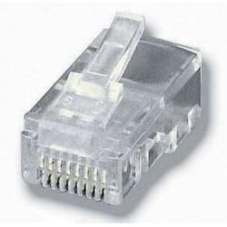 Equip - 121151 conector RJ-45 8P8C Transparente