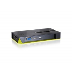 LevelOne - Switch KVM de 4 puertos USB