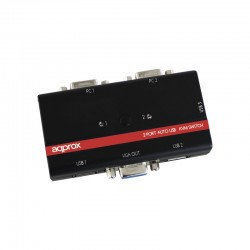 Approx - appKVMUSB2PA2 interruptor KVM