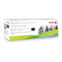Xerox - Cartucho de tner negro Equivalente a HP CB435A Compatible con HP LaserJet P1002/P1003/P1004/P1005/P1006/P1009