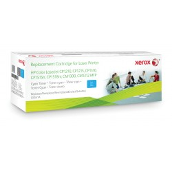 Xerox - Cartucho de tner cian Equivalente a HP CB541A Compatible con HP Colour LaserJet CM1312 MFP Colour LaserJet CM1525 C
