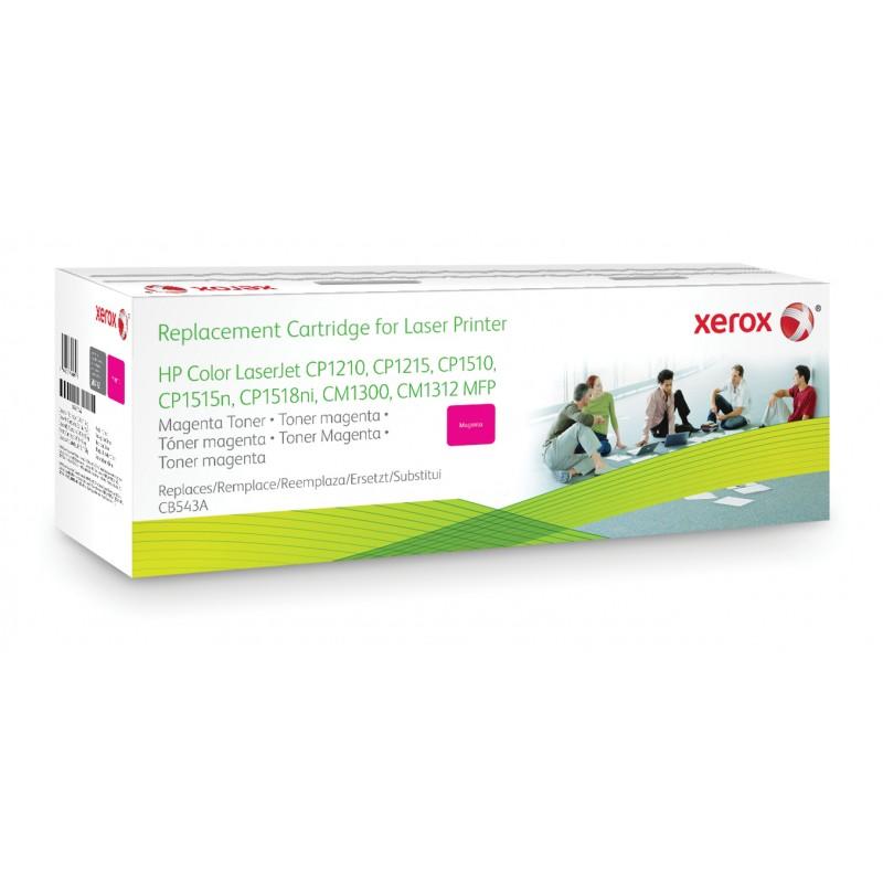 Xerox - Cartucho de tner magenta Equivalente a HP CB543A Compatible con HP Colour LaserJet CM1312 MFP Colour LaserJet CM1525