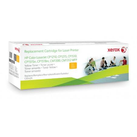 Xerox - Cartucho de tner amarillo Equivalente a HP CB542A Compatible con HP Colour LaserJet CM1312 MFP Colour LaserJet CM152