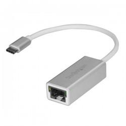StarTechcom - Adaptador de red USB-C a Gigabit - Plateado