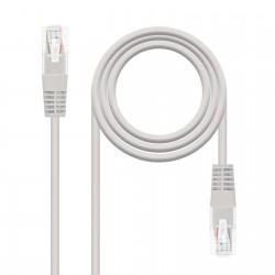 Nanocable - 10201305 cable de red Gris 5 m Cat6 U/UTP UTP