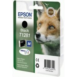 Epson - Fox Singlepack Black T1281 DURABrite Ultra Ink