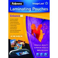 Fellowes - 5306207 plastificador 100 piezas