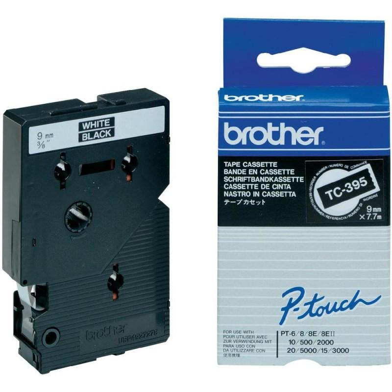 Brother - Cinta laminada 9mm - TC-395
