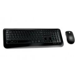 Microsoft - Wireless Desktop 850 RF inalmbrico QWERTY Espaol Negro