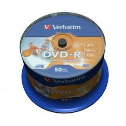 Verbatim - 43533 DVD en blanco 47 GB DVD-R 50 piezas