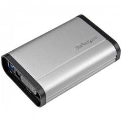 StarTechcom - Capturadora de Vdeo USB 30 a DVI - 1080p 60fps - Aluminio