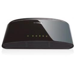 D-Link - DES-1005D No administrado Fast Ethernet 10/100 Negro