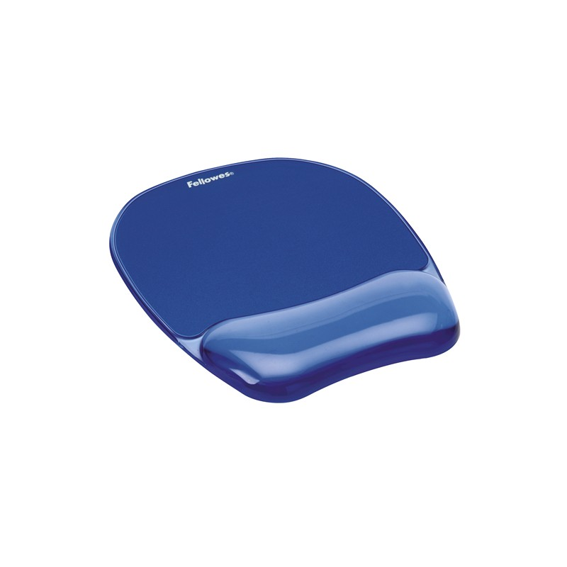 Fellowes - 91141 alfombrilla para ratn Azul