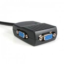 StarTechcom - Duplicador Divisor de Vdeo VGA 2 puertos Compacto Alimentado por USB - Cable Splitter