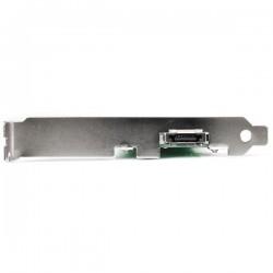 StarTechcom - Tarjeta Adaptadora PCI 1 Puerto eSATA 1 Puerto SATA con Bracket de Perfil Bajo Low Profile