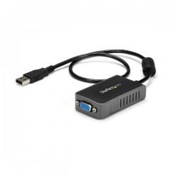 StarTechcom - Adaptador de Vdeo Externo USB a VGA - Tarjeta Grfica Externa Cable - 1440x900