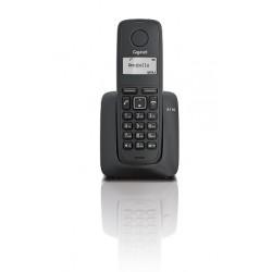 Gigaset - A116 Telfono DECT Negro Identificador de llamadas
