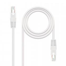 Nanocable - 10200105-W cable de red 5 m Cat5e U/UTP UTP Blanco