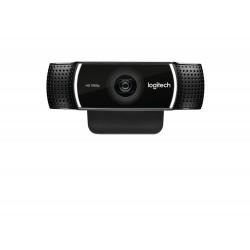 Logitech - C922 cmara web 1920 x 1080 Pixeles USB Negro