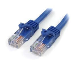 StarTechcom - 45PAT5MBL cable de red 5 m Cat5e U/UTP UTP Azul