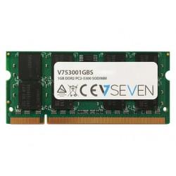 V7 - 1GB DDR2 PC2-5300 667Mhz SO DIMM Notebook mdulo de memoria - V753001GBS